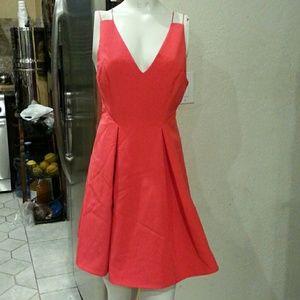 Topshop strappy bonded mini dress NWOT